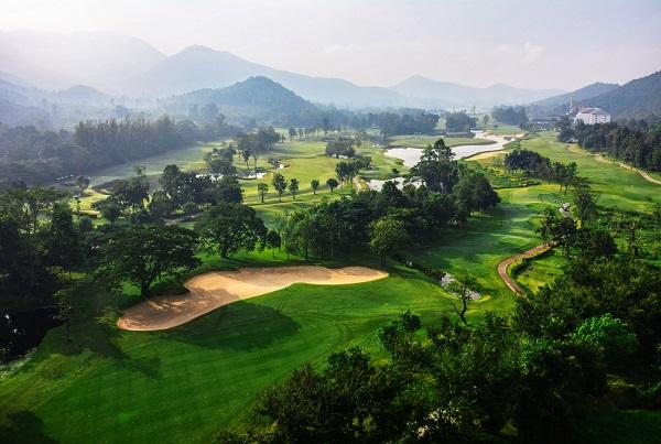Top view of Alpine Golf Resort