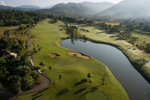 Bird eye view photo of Chiang Mai Highlands Golf and Spa Resort