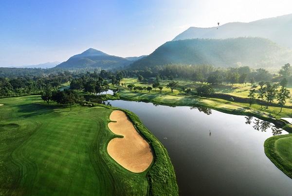 Bird eye view photo of Alpine Golf Resort Chiang Mai